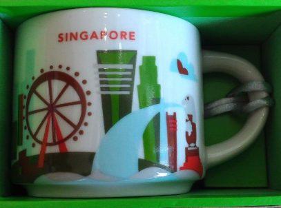 Starbucks You Are Here Ornament Singapore 2 mug