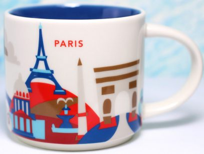 Image result for paris starbucks mug