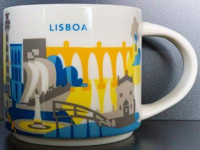 Starbucks You Are Here Lisboa mug