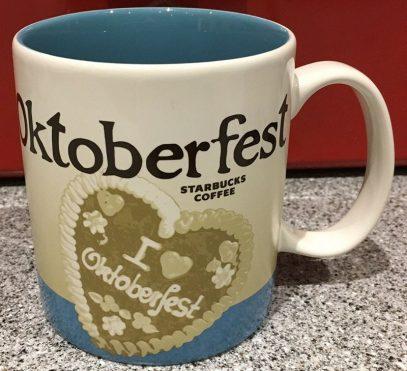 Starbucks Icon Oktoberfest 2 mug