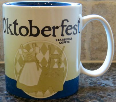 Starbucks Icon Oktoberfest 3 mug
