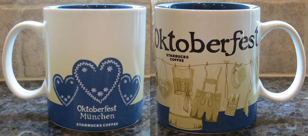 Starbucks® City Mug Oktoberfest 2016 in München Kaffee Mug Cup Becher 16 oz