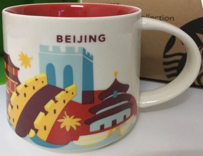 Starbucks You Are Here Beijing mug