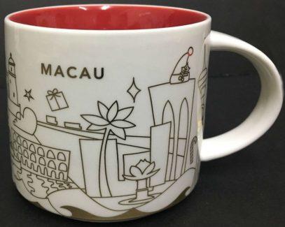 Starbucks You Are Here Christmas Macau mug