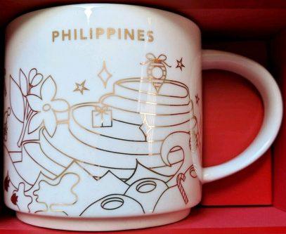 Starbucks You Are Here Christmas Philippines mug