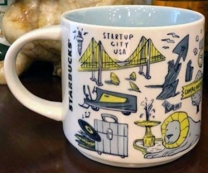 Starbucks Been There Detroit mug