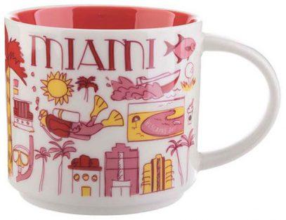 Starbucks Been There Miami mug