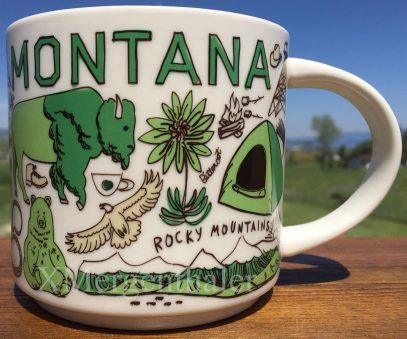 Starbucks Been There Montana mug