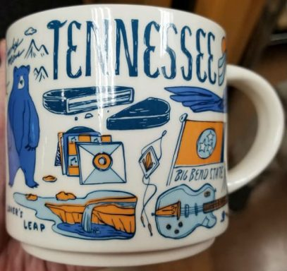 Starbucks Been There Tennessee mug