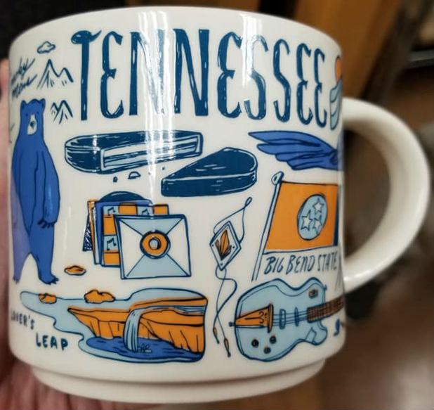 Starbucks Travel Mug By State