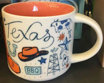 Starbucks Been There Texas mug