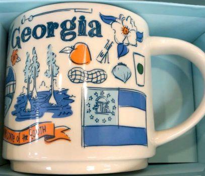 Starbucks Been There Georgia mug