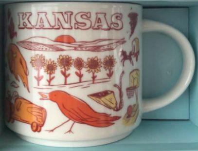 Starbucks Been There Kansas mug