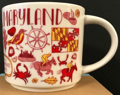 Starbucks Mugs Been Maryland There – D2W9EHI