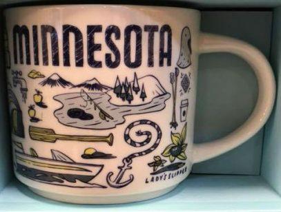 Starbucks Been There Minnesota mug