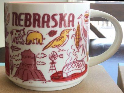 Starbucks Been There Nebraska mug