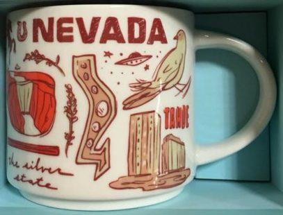 Starbucks Been There Nevada mug