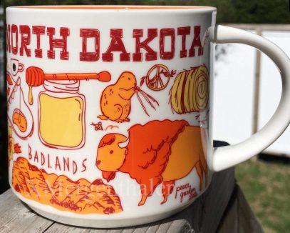 Starbucks Been There North Dakota mug