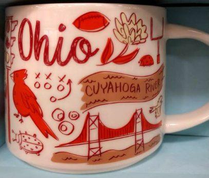 Starbucks Been There Ohio mug