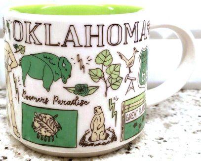 Starbucks Been There Oklahoma mug