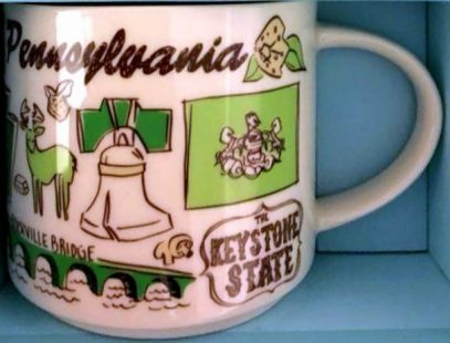 There Pennsylvania – Starbucks Mugs Been uTPOZikX