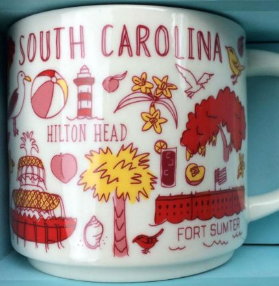 Starbucks Been There South Carolina mug