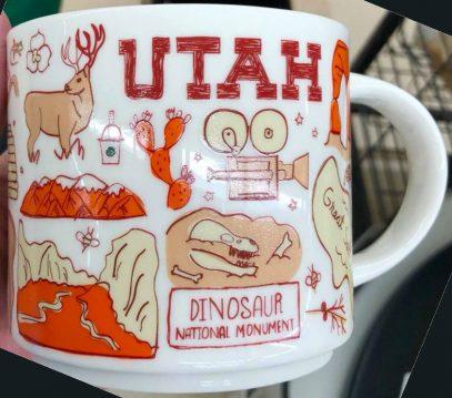 Starbucks Been There Utah mug