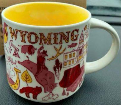 Starbucks Been There Wyoming mug