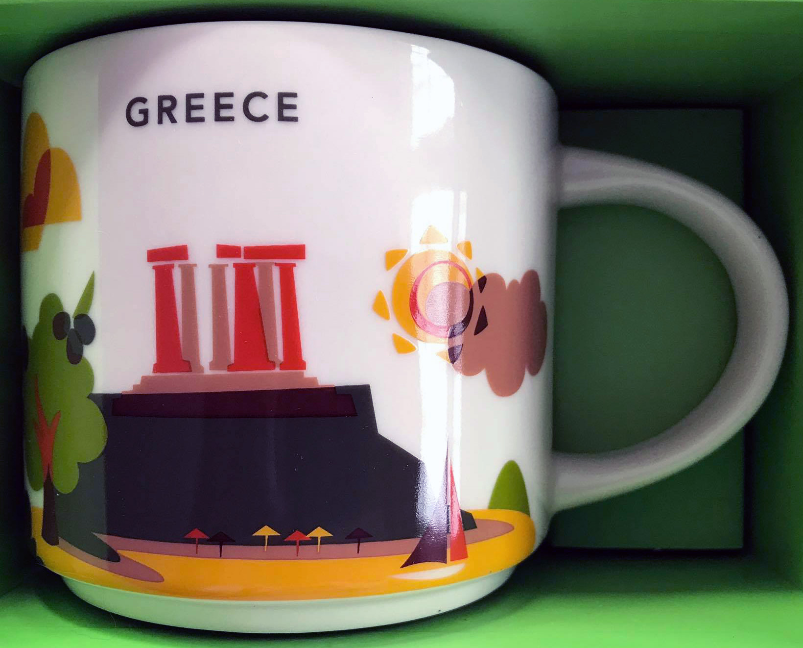 Greece – Starbucks Mugs