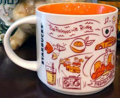 Starbucks Been There Atlanta mug