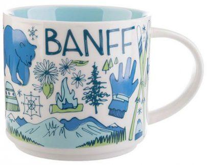 Starbucks Been There Banff mug