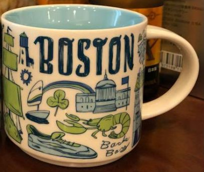 Been There Boston Starbucks Mugs