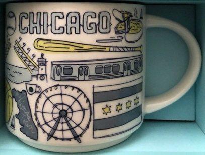 Starbucks Been There Chicago mug