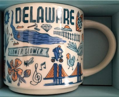 Starbucks Been There Delaware mug