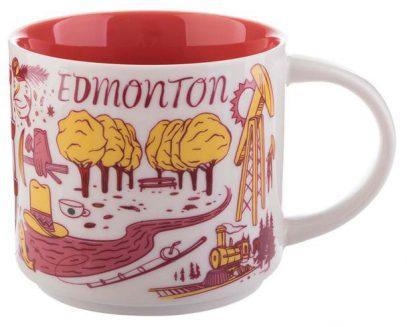 Starbucks Been There Edmonton mug