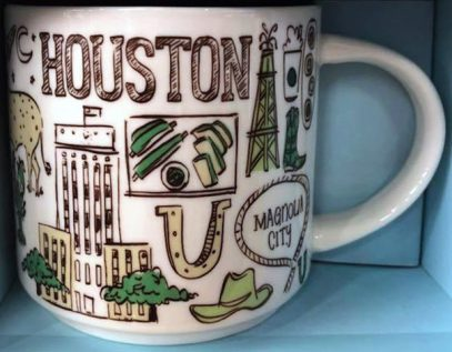 Starbucks Been There Houston mug