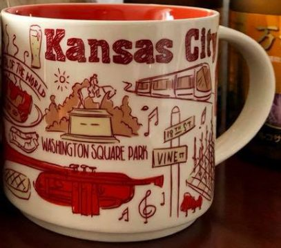 Starbucks Been There Kansas City mug
