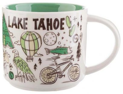 Starbucks Been There Lake Tahoe mug