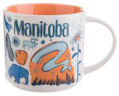 Starbucks Been There Manitoba mug