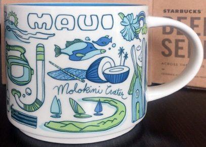 Starbucks Been There Maui mug