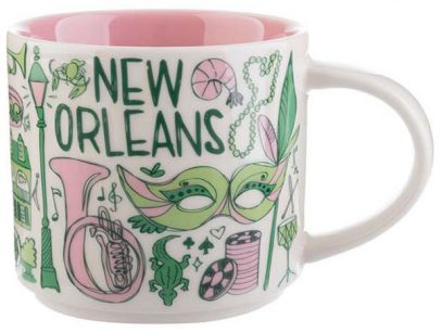 Starbucks Been There New Orleans mug