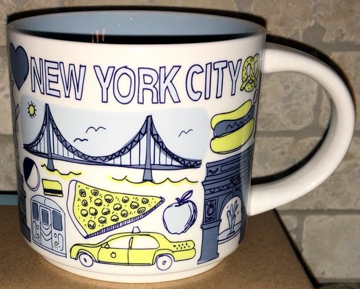 been there  u2013 new york city  u2013 starbucks mugs