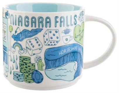 Starbucks Been There Niagara Falls mug