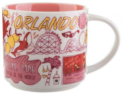 Starbucks Been There Orlando mug