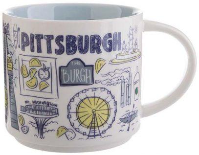 Starbucks Been There Pittsburgh mug