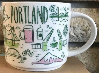 Starbucks Been There Portland mug