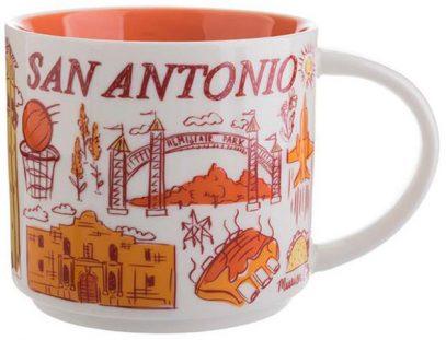 Starbucks Been There San Antonio mug