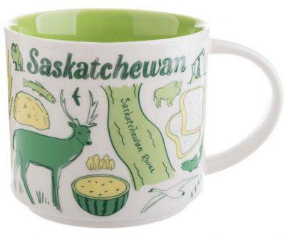 Starbucks Been There Saskatchewan mug
