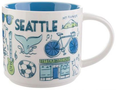 Been There Seattle Starbucks Mugs