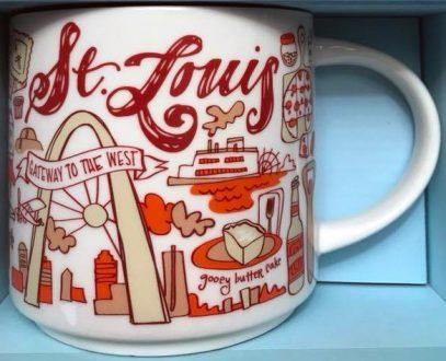 Starbucks Been There St. Louis mug